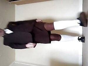 Transvestite schoolgirl please share my videos