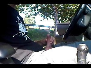 Caught in the car park - 10 (Crusing Daddy Handjob Blowjob)