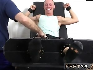Videos gay porn in white underwear Cristian Tickled In The Tickle Chair