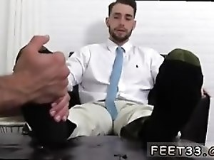 Hairy feet gay video and boss sock KC s New Foot Sock Slave