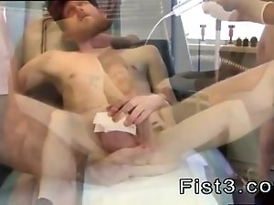 Gay military men fisting videos First Time Saline Injection for Caleb