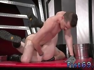 Gay fetish bondage cum toy fist and emo boys foot fisting The hunks reach