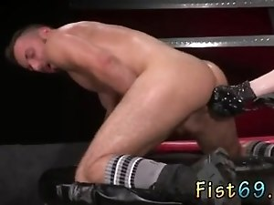 Black fist gay porno xxx Aiden Woods is on his back and moans to Axel