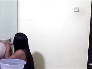 Horny Thai Ladyboy Fucks An Anonymous Asshole At A Gloryhole