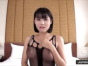 Sexy Thai Ladyboy Dream Blowjob And Masturbation