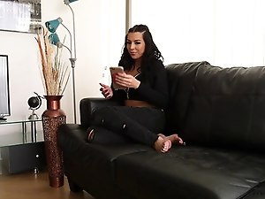 First interracial for tall gorgeous tranny nanny