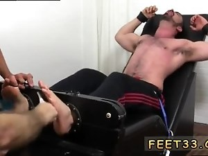 Foot sex gay porn tube Dolan Wolf Jerked Tickled