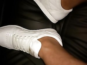 Male Feet (Reebok Sneakers)