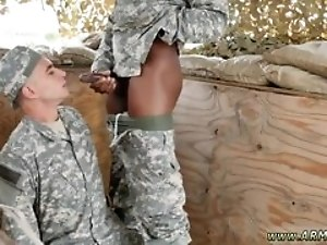 Army men eat gay cum and military toons hot mischievous troops!
