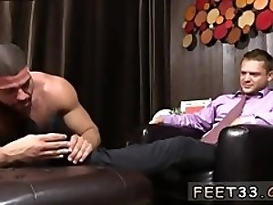 Porn police gay photo Tyrell's Sexy Feet Worshiped