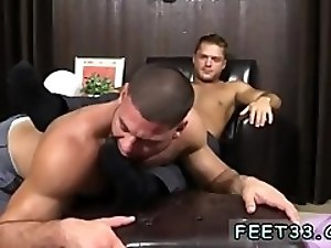 Extreme gay sex movie cock Tyrell's Sexy Feet Worshiped