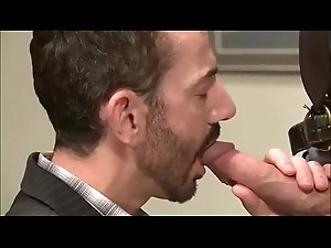 Rocco Sucks Huge Dick