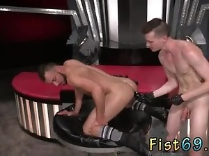 Anal fisting elderly gays men xxx Aiden Woods is on his back and screams