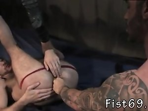 Gay  dripping ass fisted gallery It's rock hard to know where to
