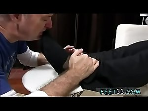 Gay young and old sex movie Scott Has A New Foot Slave