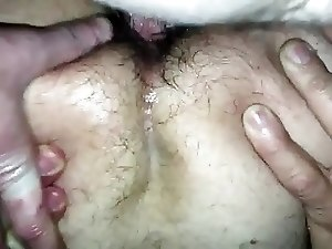 Fucking a hairy daddy!