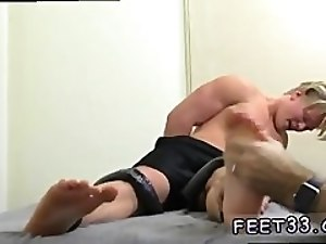 movie sex gay boys in party and black men fetish 6'3 Hunk Seamus Tickled