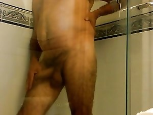 daddy ready for shower
