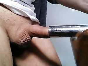 Playing with my cock