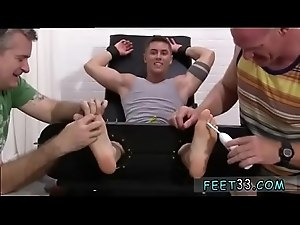 Teen feet movie gay Sebastian Tied Up &amp_ Tickled