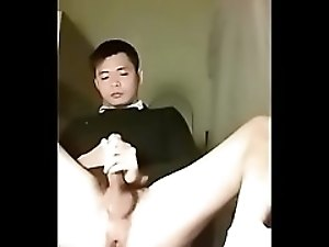 viet asian cum in suit