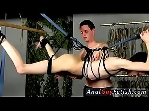 Outside twink gay bondage public Jerked And Drained Of Semen