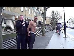 shirtless guy pissed off... in public