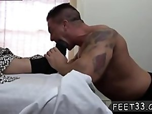 feet gay xxx Braden Fucks Sleepy Adam's Feet