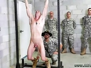 Military men with thick bushy pubes gay xxx Good Anal Training